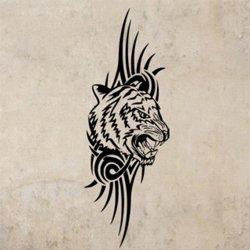 Samolepky na zeď Tygr 010