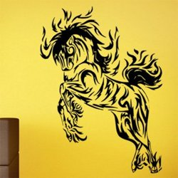 Samolepky na zeď Kůň 0339