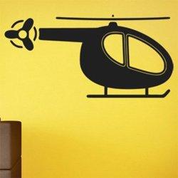 Samolepky na zeď Helikoptéra 0820