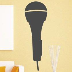 Samolepky na zeď Mikrofon 001