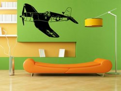Samolepky na zeď Letadlo 014