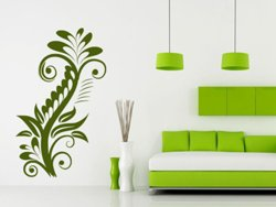 Samolepky na zeď Rostlina 015