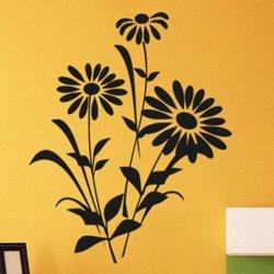 Samolepky na zeď Kopretiny 001
