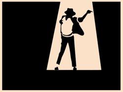 Samolepky na zeď Michael Jackson 004
