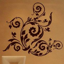 Samolepky na zeď Ornamenty z rostlin 010