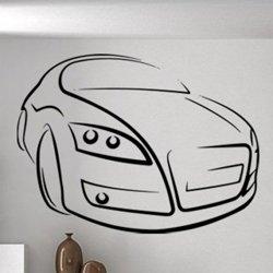 Samolepky na zeď Auto 0882