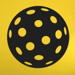 Samolepky na zeď Florbalový míček 1112