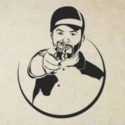 Samolepky na zeď Gangster 1118