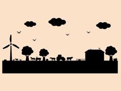 Samolepky na zeď Farma 003