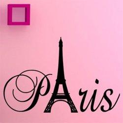 Samolepky na zeď Paříž 003