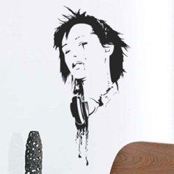 Samolepky na zeď DJ 006