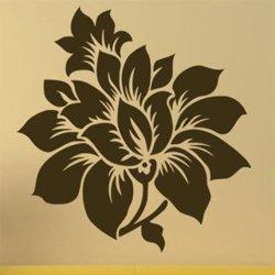 Samolepky na zeď Květiny 007