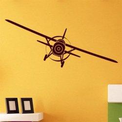 Samolepky na zeď Letadlo 003