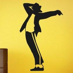 Samolepky na zeď Michael Jackson 1330