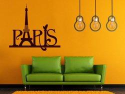 Samolepky na zeď Paříž 007