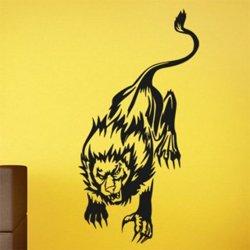 Samolepky na zeď Lev 012