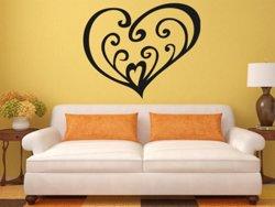 Samolepky na zeď Srdce 0260