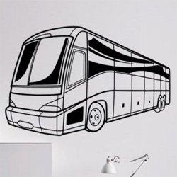 Samolepky na zeď Autobus 0784