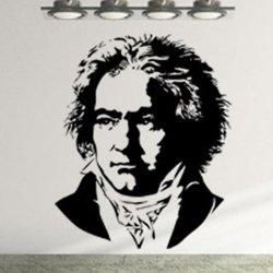 Samolepky na zeď Beethoven 001