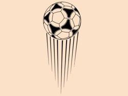 Samolepky na zeď Fotbalový míč 008