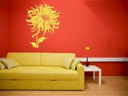 Samolepky na zeď Květiny 023