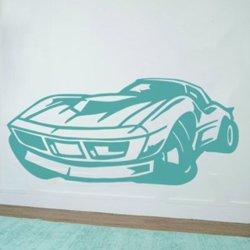Samolepky na zeď Auto 016