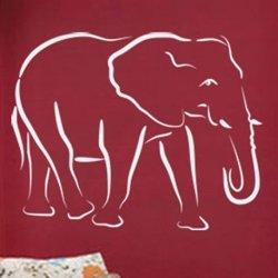 Samolepky na zeď Slon 002