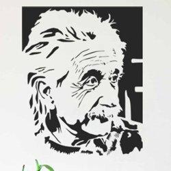 Samolepky na zeď Albert Einstein 001