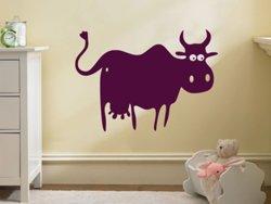 Samolepky na zeď Kráva 004