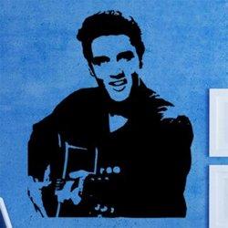 Samolepky na zeď Elvis Presley 001
