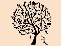 Samolepky na zeď Strom milovnice bot 0235