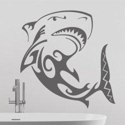 Samolepky na zeď Žralok 003