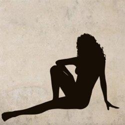 Samolepky na zeď Sexy žena 004