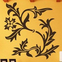 Samolepky na zeď Květiny 043