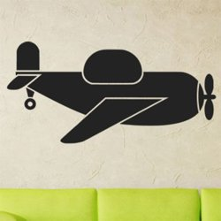 Samolepky na zeď Letadlo 0862