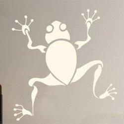 Samolepky na zeď Žába 002