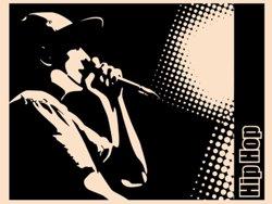 Samolepky na zeď Hip Hop 001