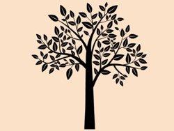 Samolepky na zeď Strom 0218