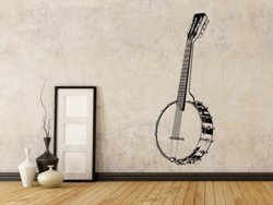 Samolepky na zeď Kytara 003