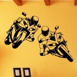 Samolepky na zeď Silniční motorky 1009