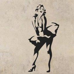 Samolepky na zeď Marilyn Monroe 1355