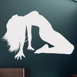 Samolepky na zeď Sexy žena 001