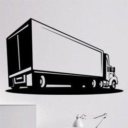 Samolepky na zeď Kamion 0735