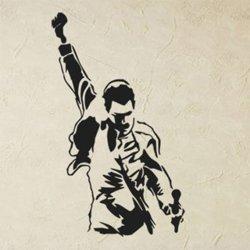 Samolepky na zeď Freddie Mercury 1364