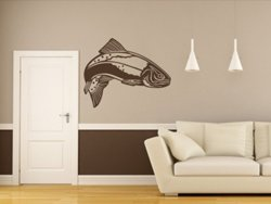 Samolepky na zeď Ryba 001