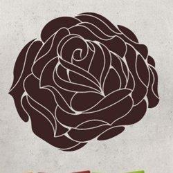 Samolepky na zeď Růže 006
