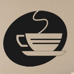 Samolepky na zeď Hrnek kávy 0054