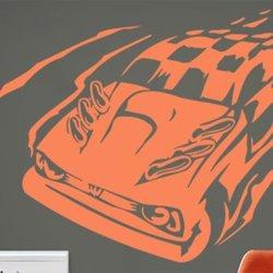 Samolepky na zeď Auto 022