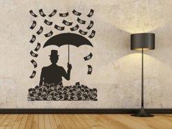 Samolepky na zeď Peníze 001