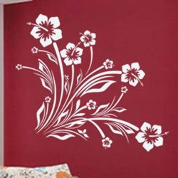 Samolepky na zeď Květiny 039